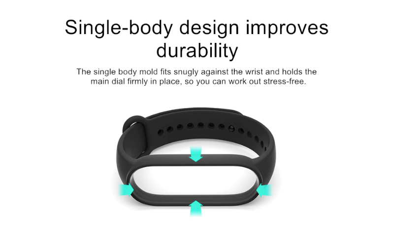 Mi band 5 original replacement strap In India