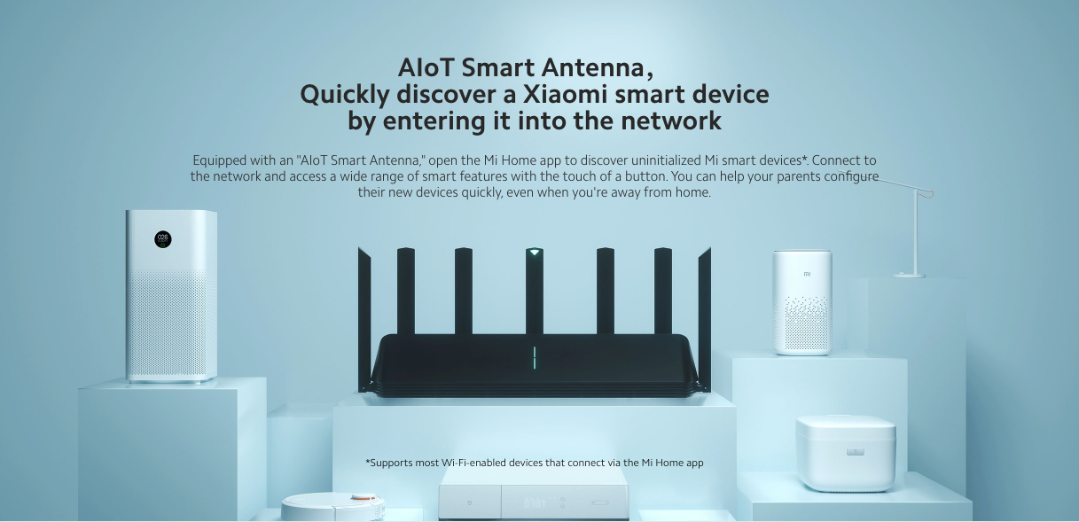 Xiaomi AIoT Router AX3600 in India specifications