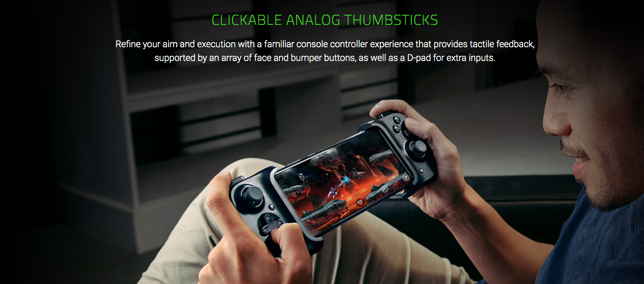 Razer kishi gamepad android and ios apple in india