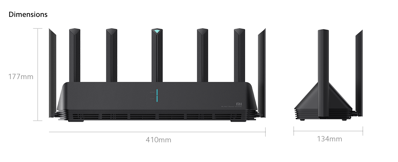 Xiaomi Wi-Fi Router AX6000 in india price furper high speed network gaming setup installation
