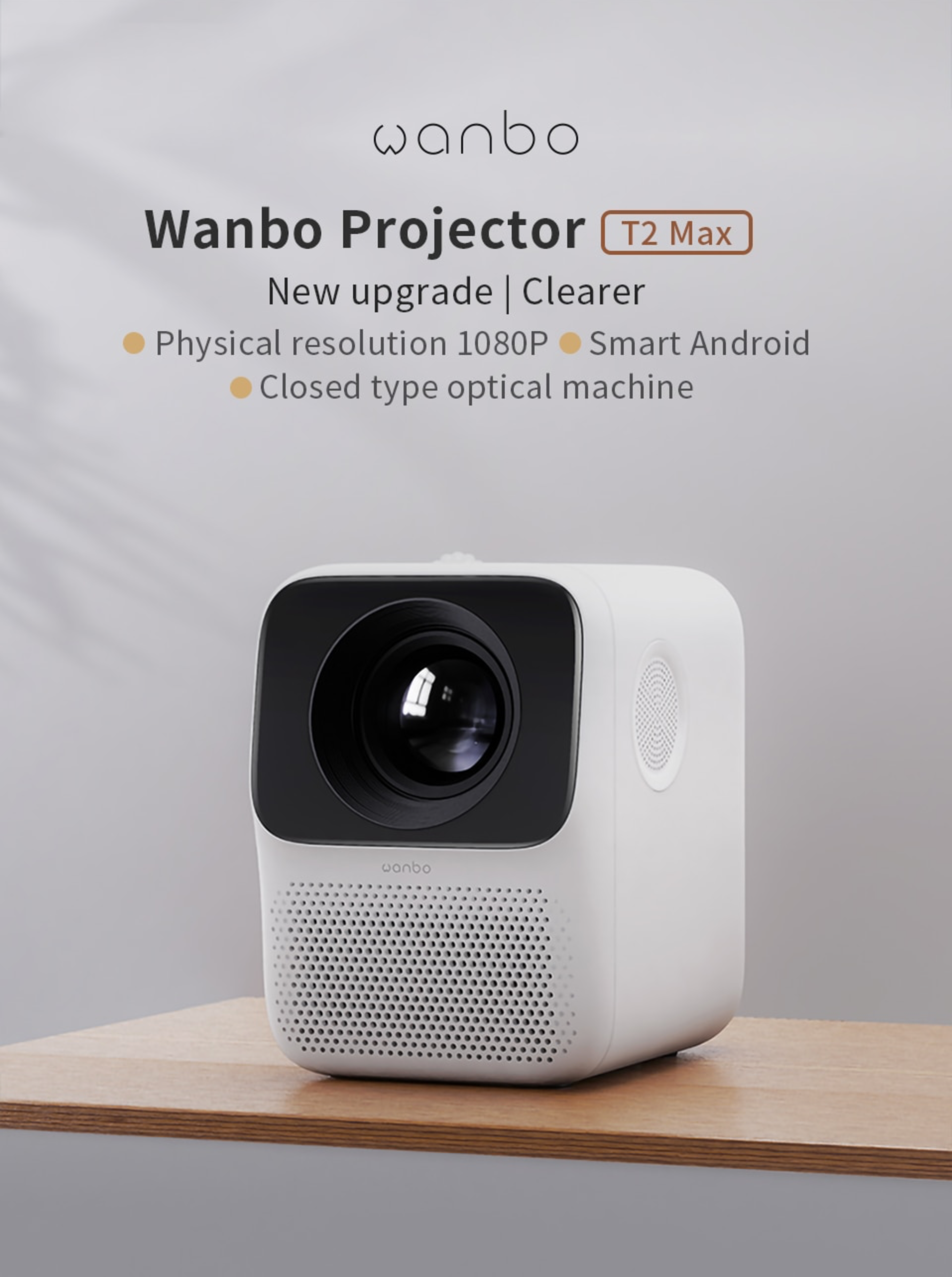 Wanbo t2 max 1080p projector in india furper online store