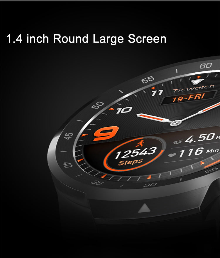 TICWATCH PRO SMARTWATCH INDIA DISPLAY FEATURES