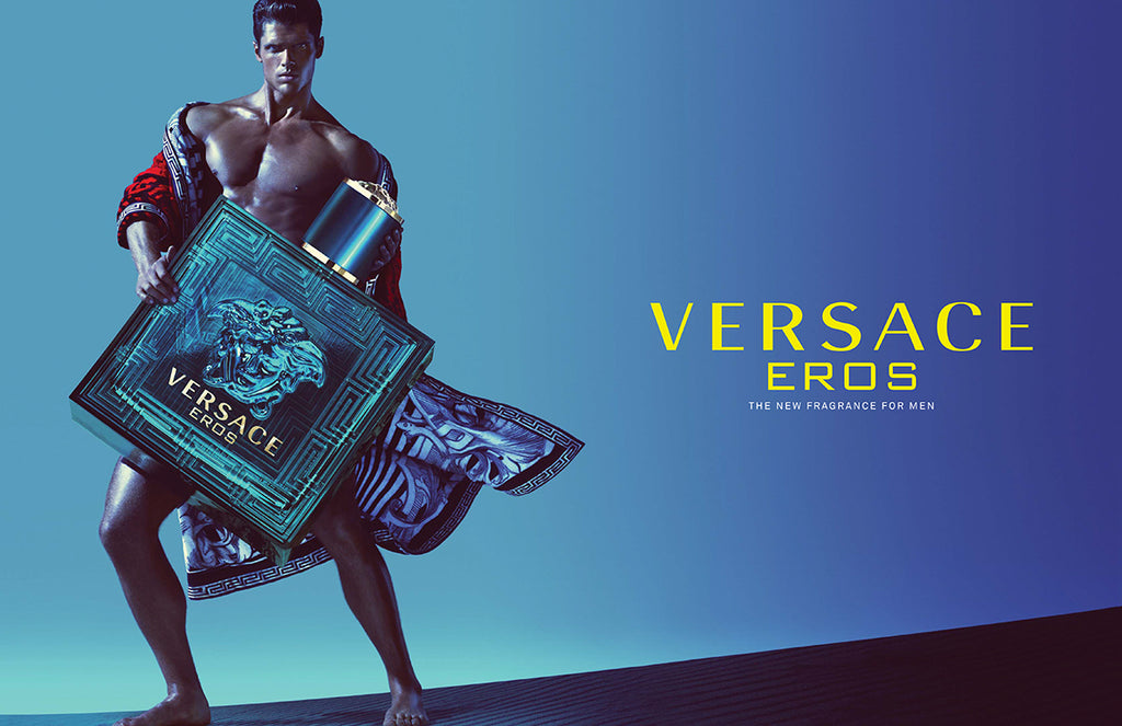 VERSACE EROS EAU DE TOILETTE FOR MEN (100ML)
