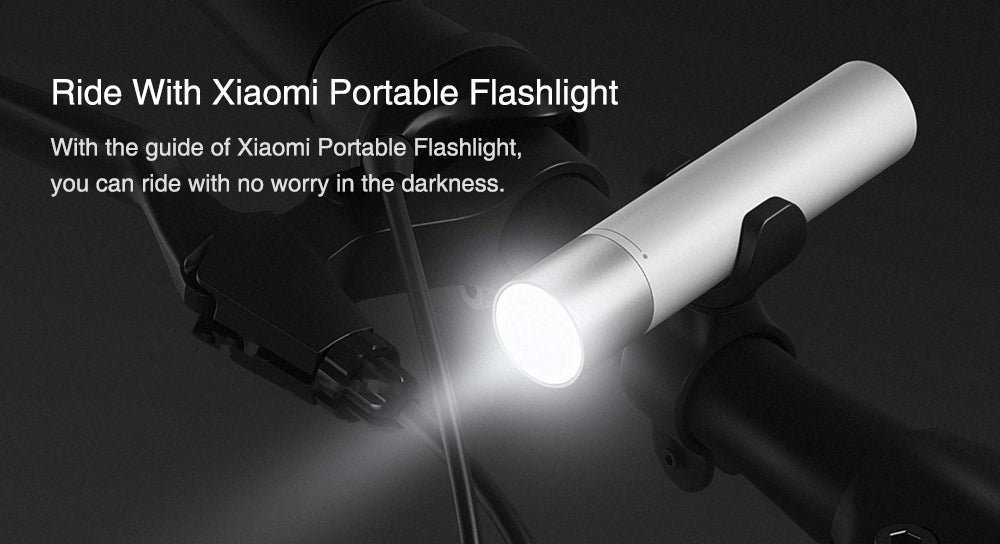 Xiaomi Portable Flashlight torch india battery