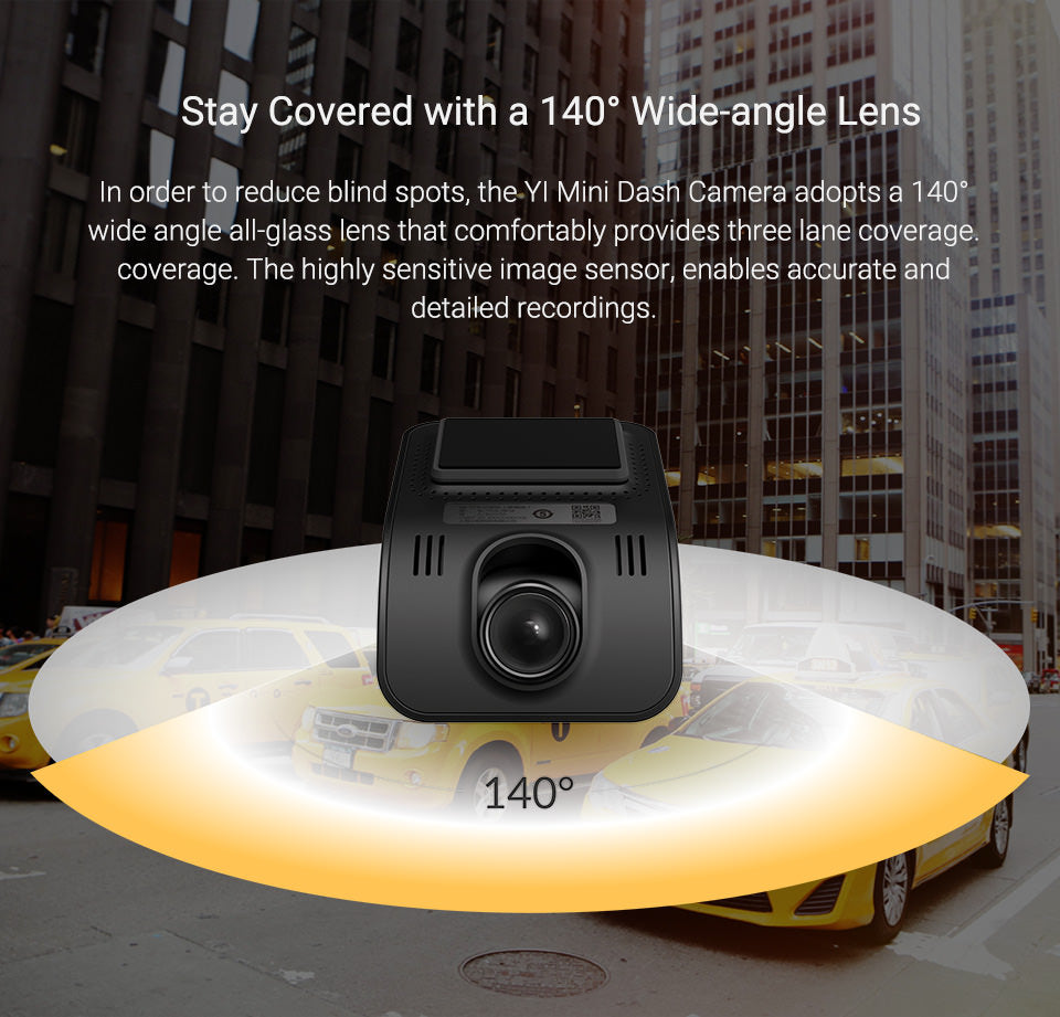 yi mini car dash camera india