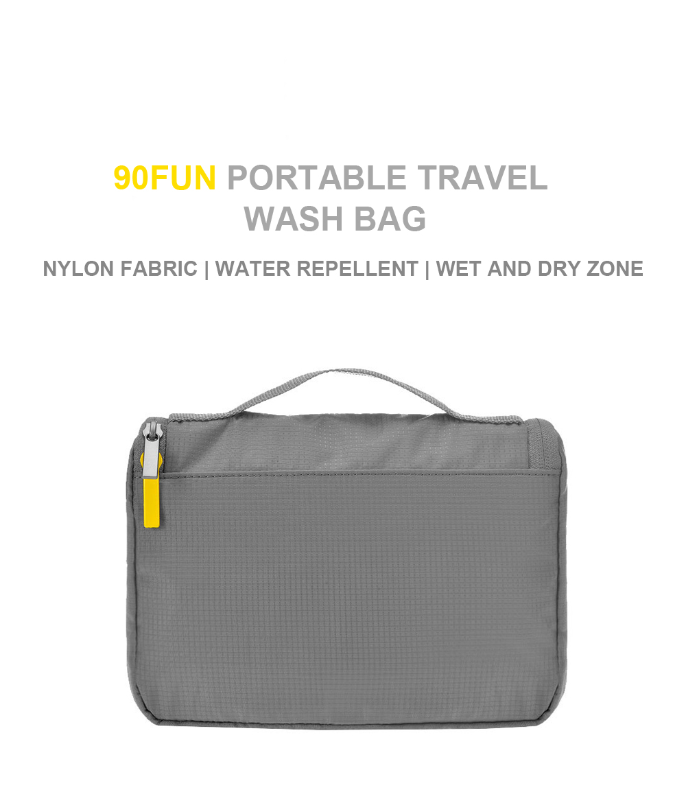 90FUN Original Waterproof Portable Wash Bag