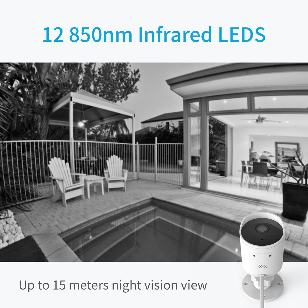 YI Outdoor Security Camera 1080p