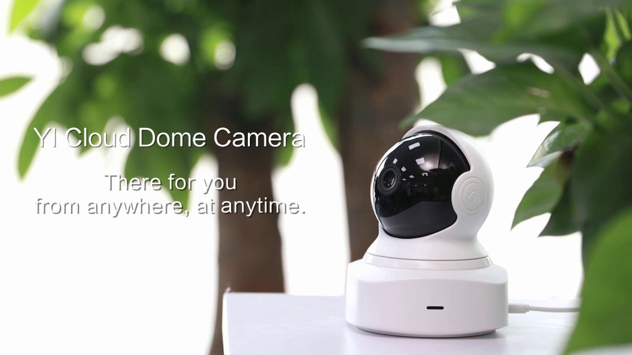 YI Cloud Dome Camera 1080P Full HD India