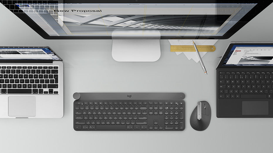 Logitech craft mouse and keyboard