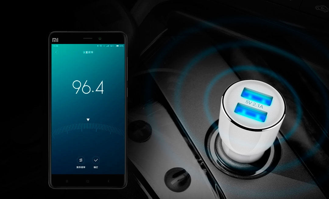 Xiaomi ROIDMI 3S Bluetooth Car Charger