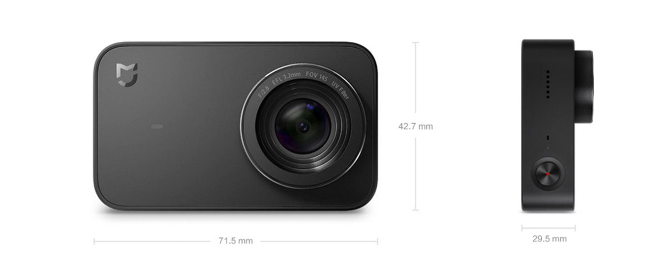 furper xiaomi mijia 4k action camera
