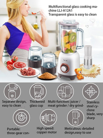 Bear LLJ-A12A1 Multi-functional Electric Food Processor - Furper