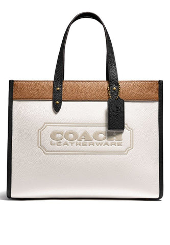 Coach Field Tote 30 Bag In Colorblock With Coach Badge handbag Coach