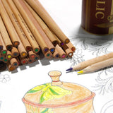 Deli Wood Holic Colored Pencil Set - Furper
