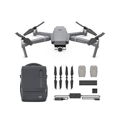 DJI Mavic 2 Zoom Drone Quadcopter with Fly More Kit Combo - Furper