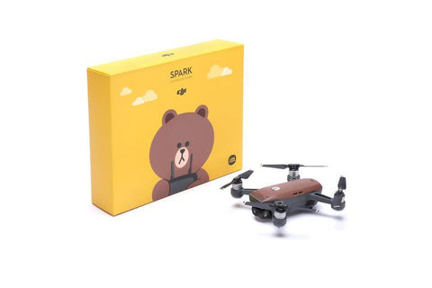 DJI Spark RC Combo LINE FRIENDS (BROWN) - Furper