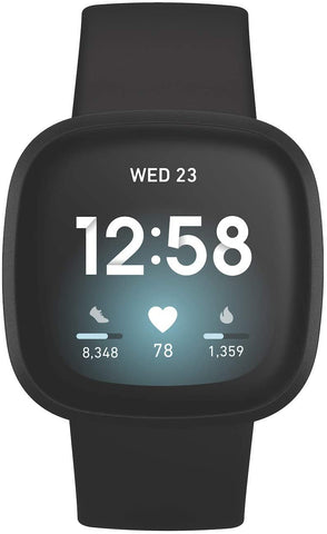 Fitbit Versa 3 Fitness Smartwatch with GPS Smartwatch Fitbit