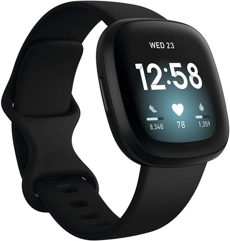 Fitbit Versa 3 Fitness Smartwatch with GPS Smartwatch Fitbit Black