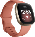 Fitbit Versa 3 Fitness Smartwatch with GPS Smartwatch Fitbit Pink