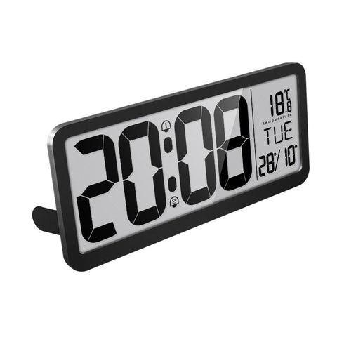 Furper modern digital multi-functional wall clock wall clock Furper.com Black