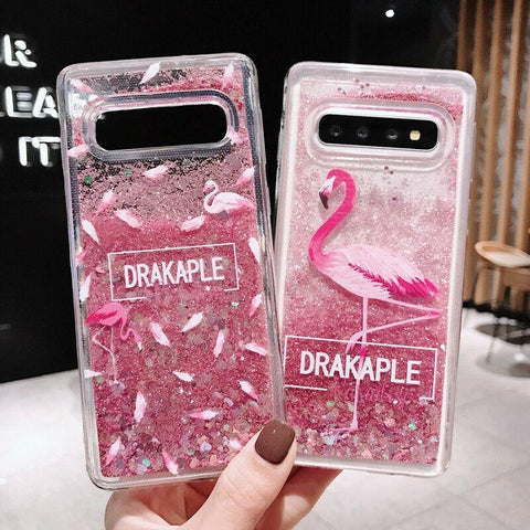 Liquid Quicksand Glitter Case For Samsung Galaxy S10+ Plus - Furper