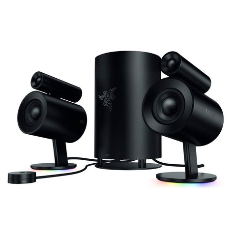 Razer Nommo Pro 2.1 THX Virtual Surround Ultimate Sound Gaming Speakers Gaming Speakers Razer