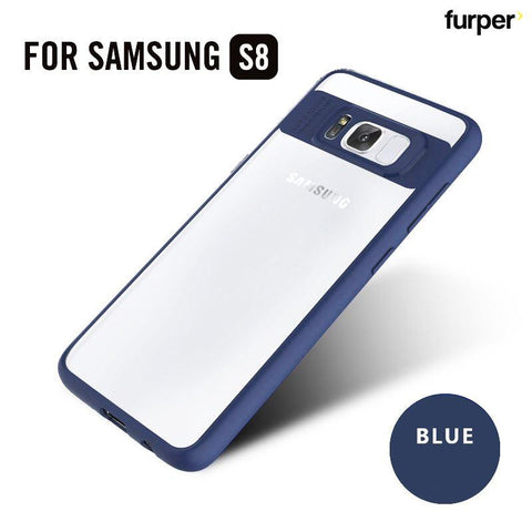 Samsung Galaxy S8 Ultra thin Shell Case - Blue - Furper