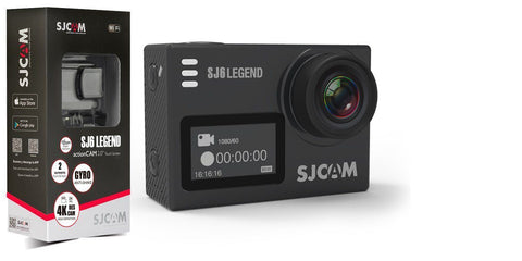 SJCAM SJ6 LEGEND 4K 24fps Ultra HD Novatek 96660 Waterproof Action Camera - Furper