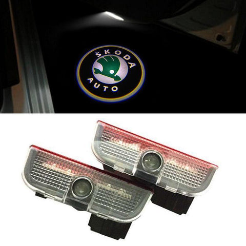 Skoda Superb Door light Projector - Furper