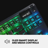 SteelSeries Apex Pro TKL Mechanical Gaming Keyboard With OLED Smart Display Gaming Keyboard SteelSeries