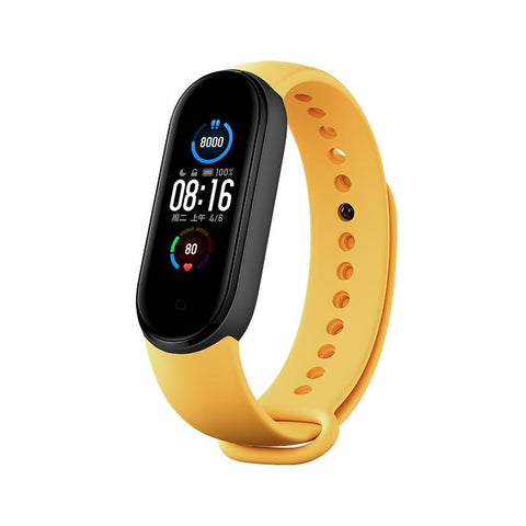 Xiaomi Mi Band 5 (Global Version) Smartwatch Xiaomi Mi Band 5 + Mi Yellow Strap