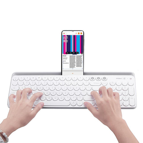 Xiaomi MIIIW 104Keys Wireless Bluetooth Dual Mode Keyboard - Furper