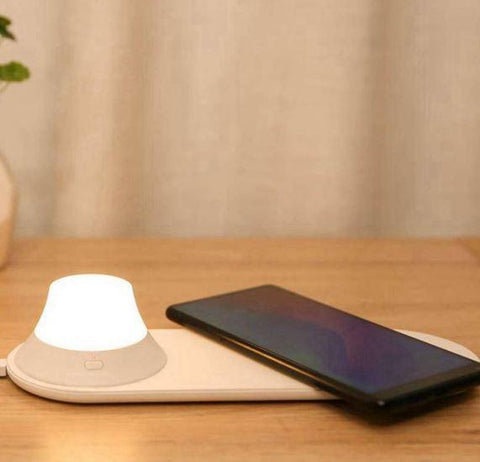 Xiaomi Yeelight Wireless Fast Charger with LED Night Light - Furper
