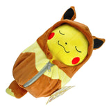 Pokemon Pikachu in Sleeping Bag Plush Toy (Ekans/Eevee/Charizard)