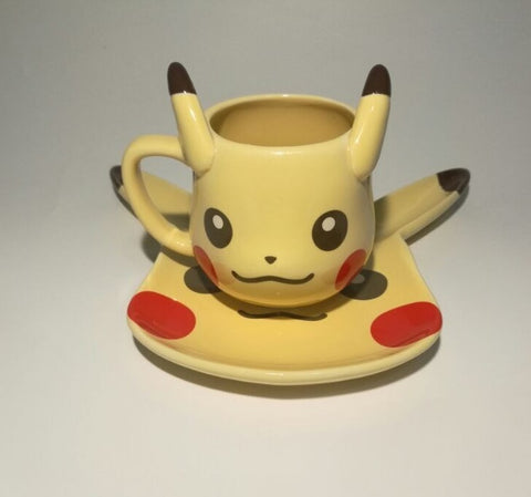 Pokemon Pikachu Mug and Saucer Set