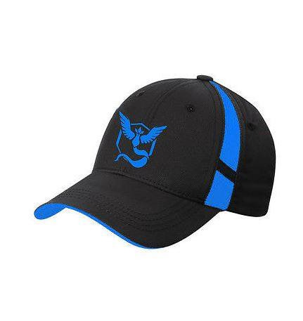 Pokemon GO Team Sports Baseball Stripe Cap