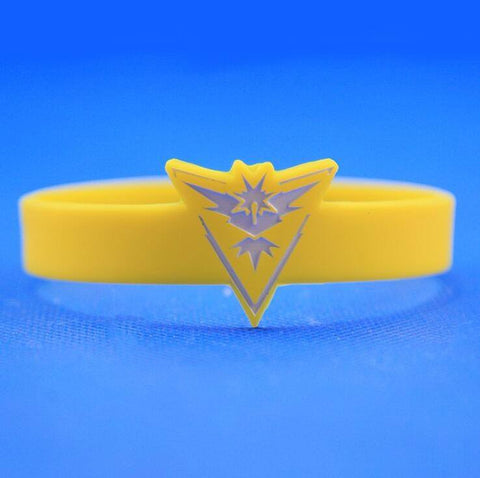 Pokemon Go Team Silicone Bracelets