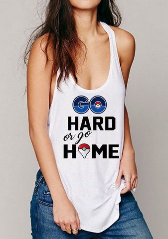 Pokemon Go Women's Fashion Singlets