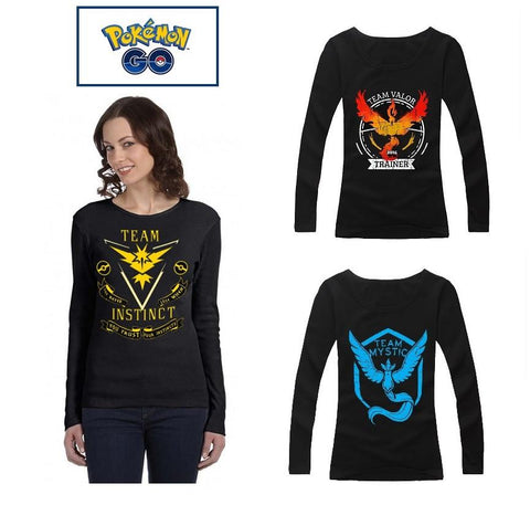 Pokemon Go Women's Long Sleeve T-Shirts