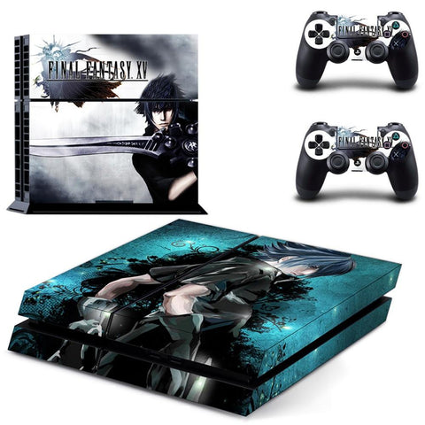 Final Fantasy XV Vinyl Sticker Skin Cover for Sony Playstation 4 (PS4)