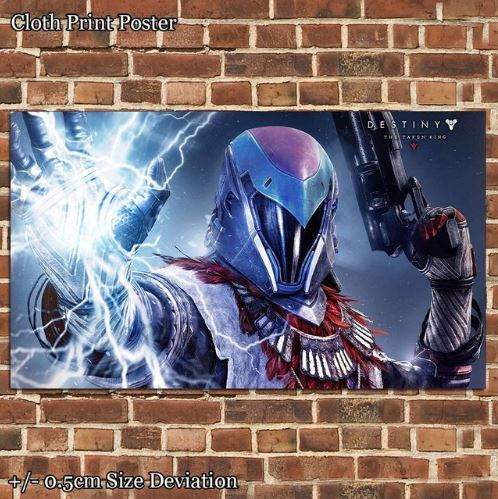 "Destiny The Taken King Warlock Cloth Art Poster (35""x60"")"