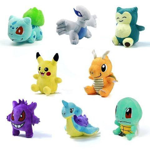 "15 Styles 5.5"" Pokemon Plush Toy"