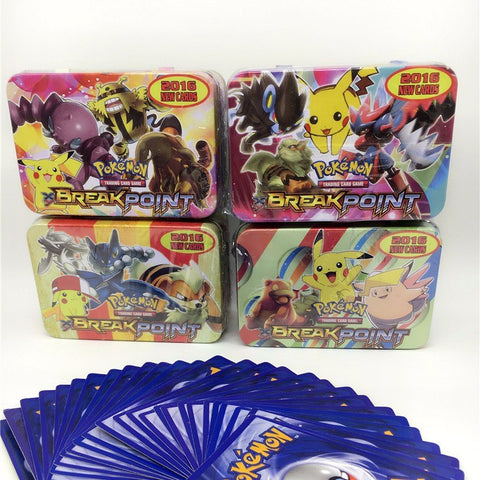 42pcs/Box 2016 Pokemon Trading Cards Breakpoint