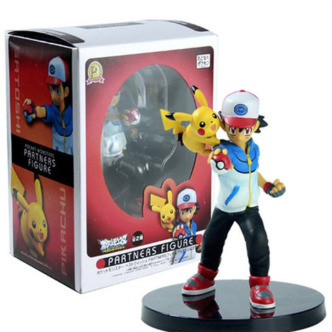 Pokemon Ash Ketchum and Pikachu Action Figures (14cm)