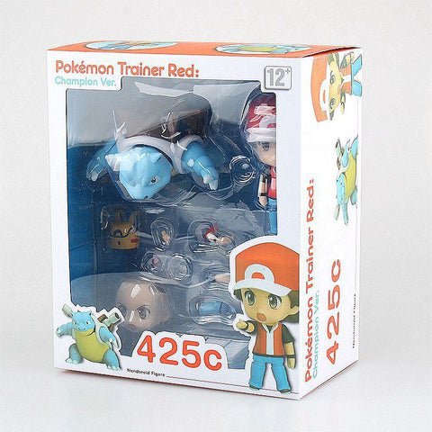 Pokemon Ash Ketchum with Blastoise Action Figure