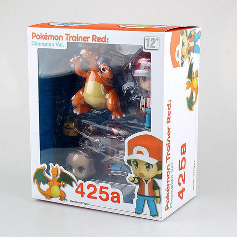Pokemon Ash Ketchum with Charizard Action Figure