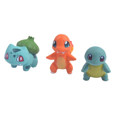 Pokemon Ash Ketchum with Charmander, Squirtle and Bulbasaur Action Figure