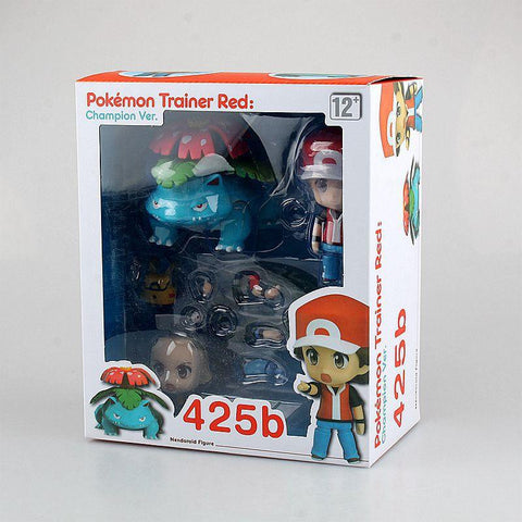 Pokemon Ash Ketchum with Venusaur Action Figure