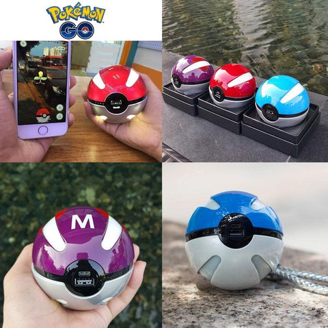 Pokemon GO Pokeball Power Bank Portable Charger 10,000mAh (First Generation)