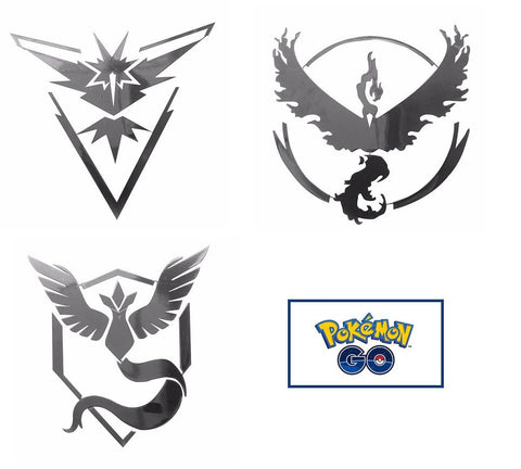 Pokemon GO Team Vinyl Decal Sticker